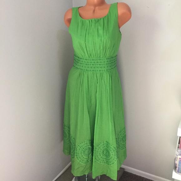952935af Jones New York Green Dress Size 8